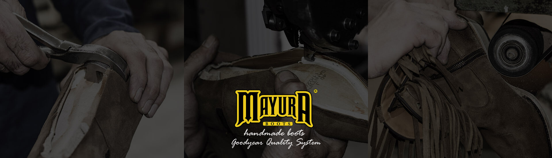 More than 50 years manufacturing hand-made leather boots with the well-known Goodyear System