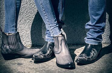 Men's and Women's boots
